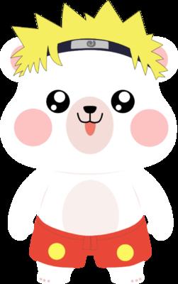 火影熊卡通形象
