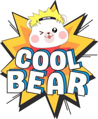 卡通小熊涂鸦